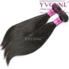 Hotselling wavy Virgin cambodian hair weft 100% human hair