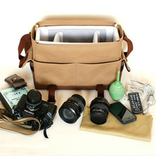 Top- selling waterproof canvas dslr camera bag