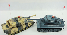 RC Battle Tank Infrared RC Combat Tank Toys (Twin Pack) RC Tank