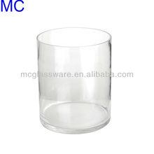 handmade glass cylinder vase glass