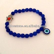Evil eye bracelet,fashion bead bangle,promotional bead bangle