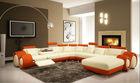 hot sale and elegant leather sofa set 4048