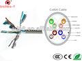cat6a cobre desencapado twised pares de telecomunicações cabo de 305m