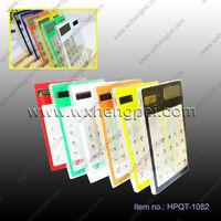 hot solar transparent calculator transparent solar powered touch screen calculator touch screen transparent calculator
