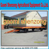 heavy equipment trailer transport flat trailer in high quality