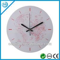 30cm fashion design glass globe clock