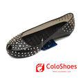 puntos blancos de cristal sandalias de las mujeres para la venta