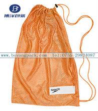 orange mesh plastic bag
