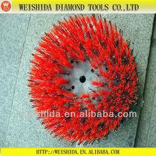 Diamond antique wire brush wheel (power tool)