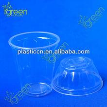 270ml plastic apple-shaped ice cream sundae cups