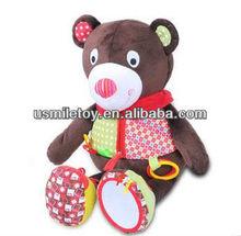 stylish multifunction baby plush toys cuddling bear stuffed toy