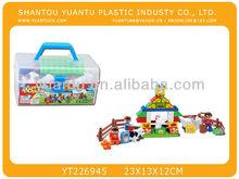 38pcs happy farm blocks toys bricks for sale