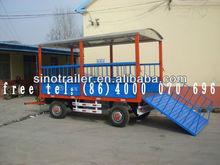 animal transportation united farm utility trailer for tractor