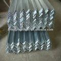 el peso de aluminio galvanizado de ángulo de hierro con muchos tamaños y buenos precios