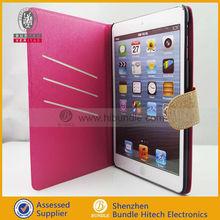 New Fashional latest design!!! Leather Case Skin For ipad mini