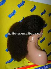 qingdao LiBeier wigs full lace wig mogolian hair afro wigs