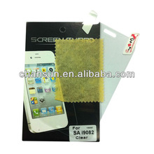 for samsung grand i9082 clear/transparent screen protector,factory price