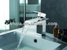 chrome bathroom basin stream Faucet Mixer pillar Tap for Sink bar