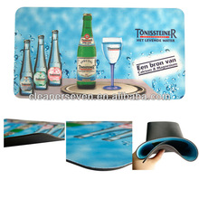 full printing rubber branded bar mats
