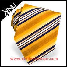 Striped Yellow 2012 Fashion Neckties