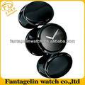 ファッションプラスチックブレスレットの腕時計ブラック