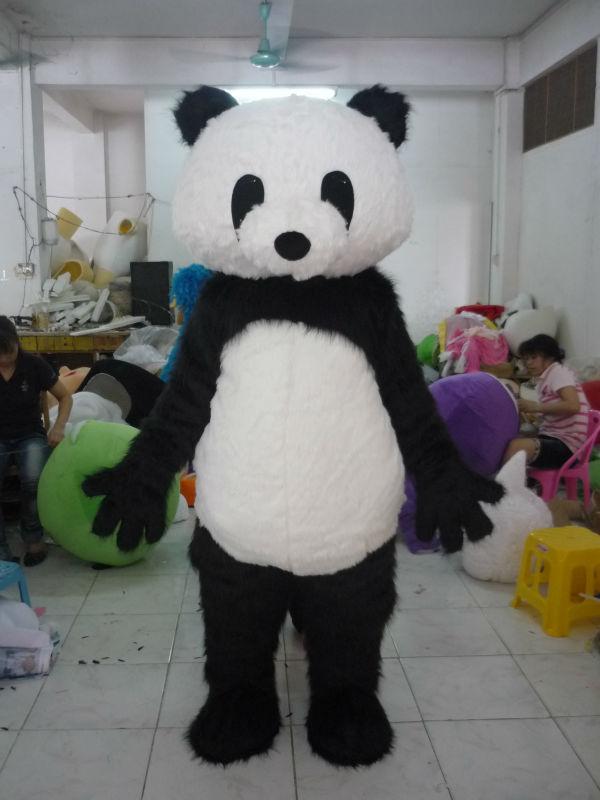 Panda Costume For Adults Adult Panda Head Costume