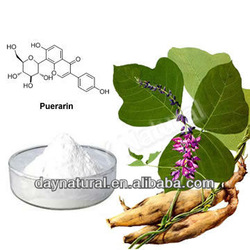 Hot sell natural Pueraria P.E.(extract) with Puerarin powder