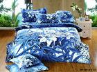3D reactive printed 100% cotton bedding comforter sheets set with full size 4pcs bedding set 3d luxury Duvet cover set-DF-135