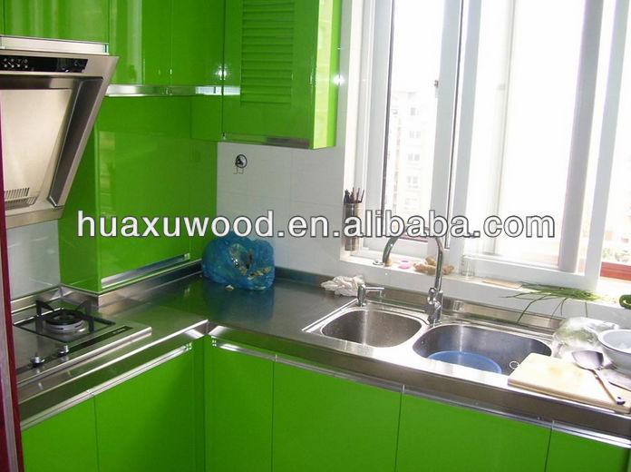 Pintura Em Armario De Cozinha De Aço : Verde de a?o inoxid?vel mesa pintura automotiva porta