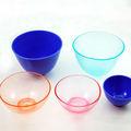 Zahnärztliche silikonkautschuk bunte hoch transparent schüssel/mischen tasse mit gutem preis
