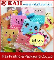 pink spiral notebook,spiral notebook color paper,inserts for spiral notebooks