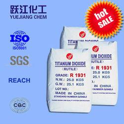 Titanium dioxide powder for building coating