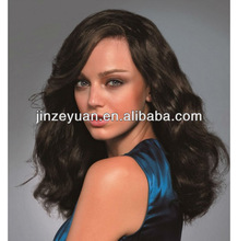 Natural look High quality human hair wigs white women