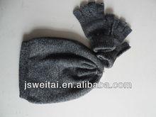 children winter knitted hat & gloves set