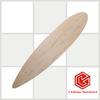 wholesale Canadian maple blank longboard skateboard decks