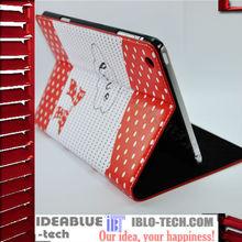 Leather Printed Case for iPad Mini