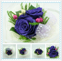 Hot Selling Beautiful Heart-shape Wholesale Preserved Flower Florist