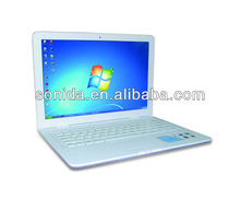 Intel Atom Dual Core D2500 1.86 GHz laptop made in china