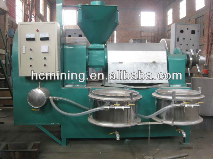 Oil press for soybean, peanut,seasame, groundnuts, sunflower seeds, mustard