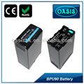 Bp-u90 bpu90 nuevo piladelacámara pack con digital de la batería para sony pmw-ex1/ex3
