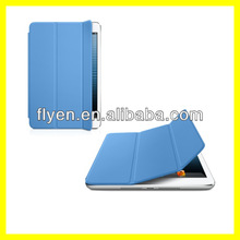Smart Cover for iPad mini Ultra Slim Tri fold Magnetic Leather Smart Case for iPad mini Smart Cover Blue