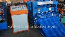 DIXIN 828/1035-207-28circular arc glazed tile roll forming machine