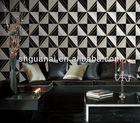 2013 removable self-adhesive non-woven office wallpaper designs (0.53*10m)