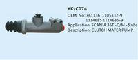 CLUTCH MASTER CYLINDER 1361136 / 1105332 / 1114685 FOR SCANIA Engine 113