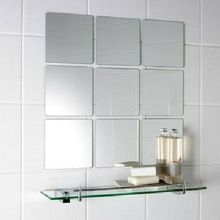 Non fogging bath mirror /bathroom mirror set