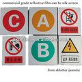 Reflexivo sinais de trânsito para a estrada, adesivos reflexivos