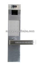 High Security Illegal Open Alarm Code Lock Password Fingerprint Locks Fingerprint+Key+Card+Password Door Lock