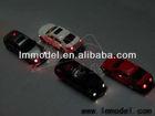 1:100 authorized model car with led light