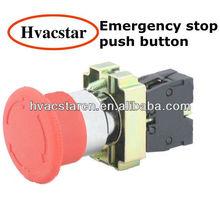 Emergency stop momentary switch waterproof push button switch(LA167-B2-BS631)