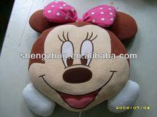 Cutely Cartoon Character Toys Plush Cushion/ pillow